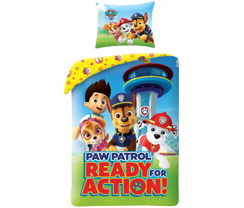 PAW Patrol Dekbedovertrek Ready for Action 140 x 200
