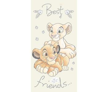 Disney The Lion King Serviette de plage Best Friends 70 x 140 cm