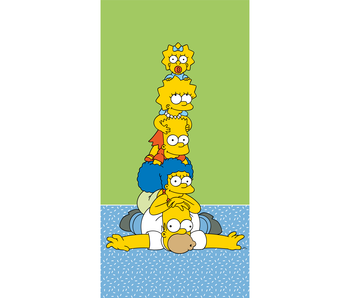 The Simpsons Strandlaken Family 70 x 140 cm