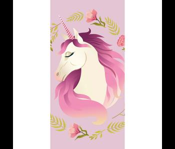 Unicorn Serviette de plage Fleurs 70 x 140 cm