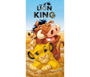Disney The Lion King Strandlaken Timon & Pumbaa 70 x 140 cm