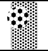 Voetbal Hoeslaken Corner - Eenpersoons - 90 x 200 cm - Katoen