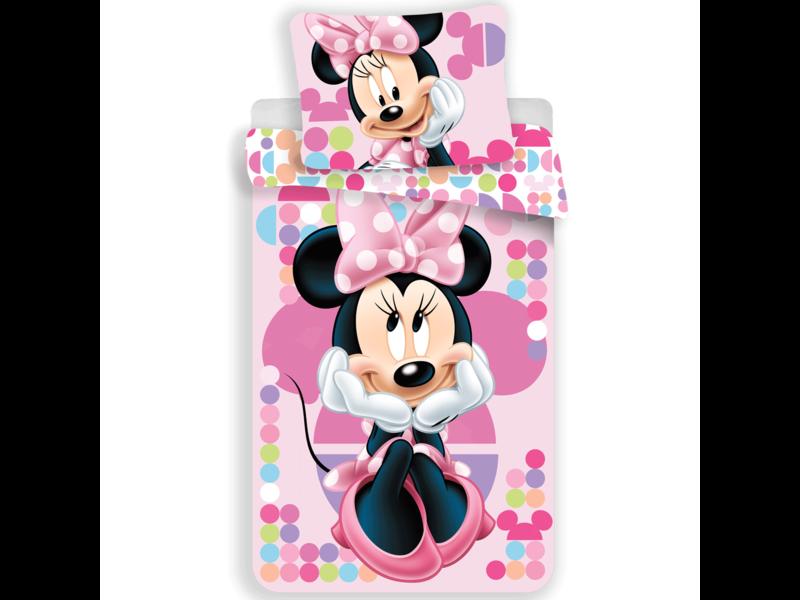 Disney Minnie Mouse housse de couette - Simple - 140 x 200 cm - Polyester