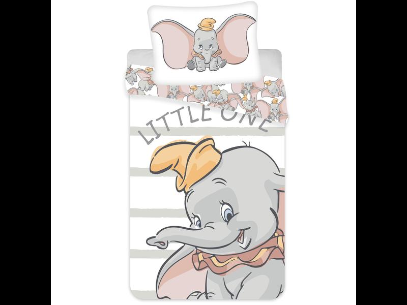 Disney Dumbo Housse de couette Little One - Simple - 140 x 200 cm - Coton