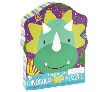 Floss & Rock Puzzle Dino - 12 Stück