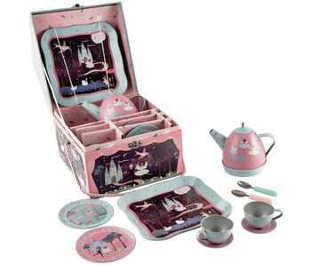 Floss & Rock Tea service / Music box Enchanted 10-piece