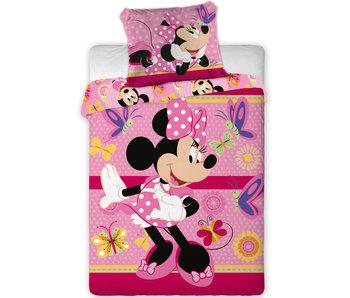 Disney Minnie Mouse BABY Dekbedovertrek Vlinders 100 x 135 cm