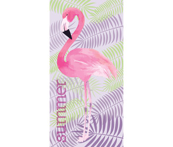 Flamingo Serviette de plage Summer 70 x 140 cm