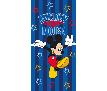 Disney Mickey Mouse Beach towel Stripes 70 x 140 cm