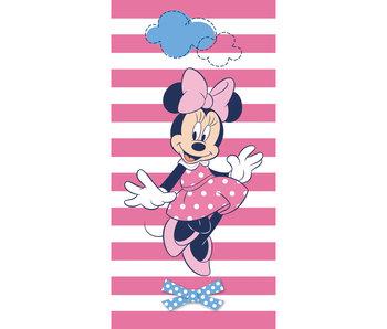 Disney Minnie Mouse Serviette de plage Stripes 70 x 140 cm