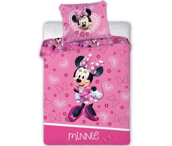 Disney Minnie Mouse Housse de couette BÉBÉ Coeurs 100 x 135 cm