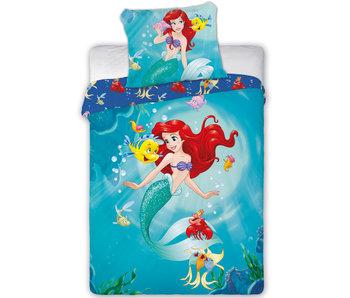 Disney Kleine Zeemeermin BABY Dekbedovertrek Vrienden van de Zee 100 x 135 cm