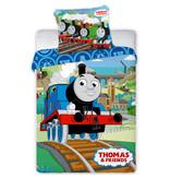 Thomas de Trein Housse de couette bébé Railway - 100 x 135 cm - Coton