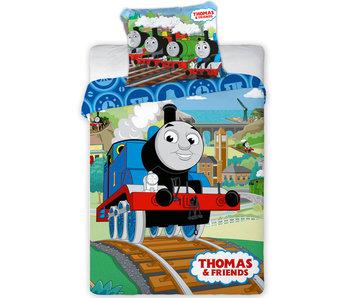 Thomas de Trein Housse de couette BABY Railway 100 x 135 cm