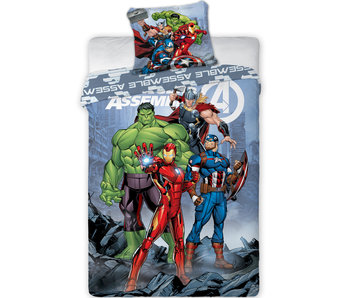 Marvel Avengers Dekbedovertrek Assemble 140 x 200