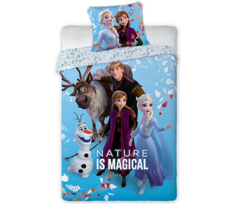 Disney Frozen Dekbedovertrek Magical 140 x 200