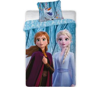 Disney Frozen Bettbezug Ice Forest 140 x 200