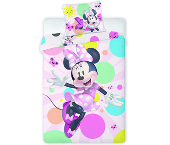 Disney Minnie Mouse Dekbedovertrek Happy 140 x 200