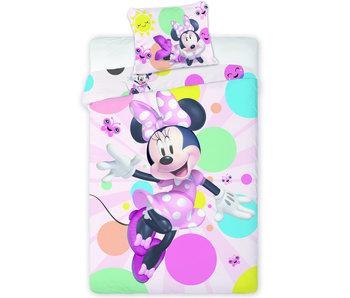 Disney Minnie Mouse Housse de couette Happy 140 x 200