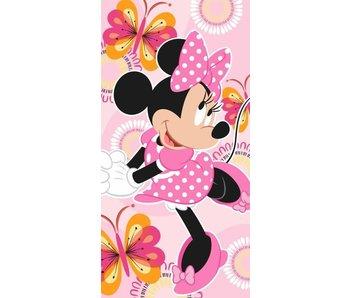 Disney Minnie Mouse Serviette de plage Fleurs 70 x 140 cm