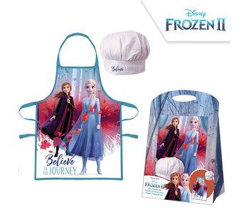 Disney Frozen Schürze und Kochmütze Reise 4-8 Jahre