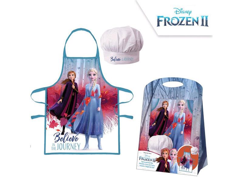 Disney Frozen Schort en Koksmuts Journey - 4-8 Jaar