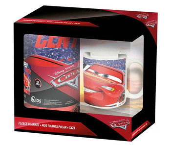 Disney Cars Set Fleece deken  en Mok