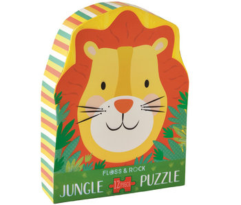 Floss & Rock Puzzle Lion - 12 pieces