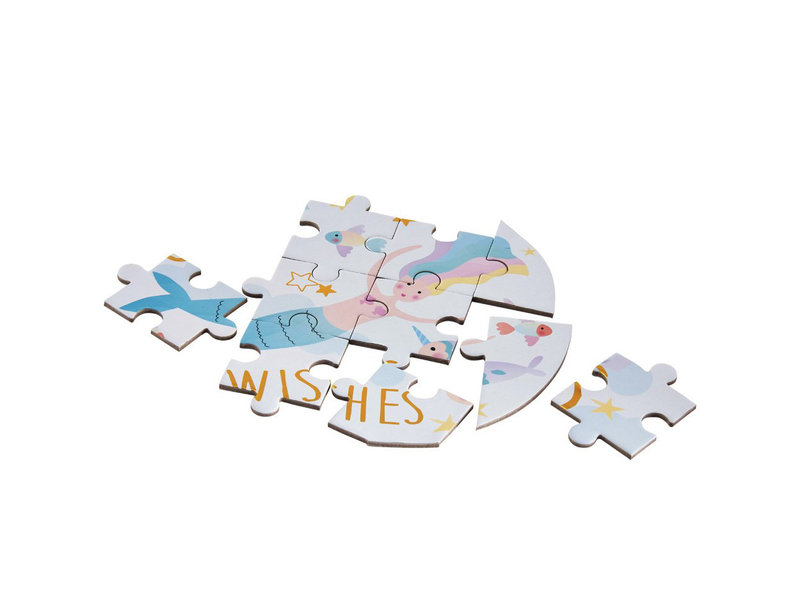 Floss & Rock Puzzle Unicorn - 80 pieces - 50 x 35 cm