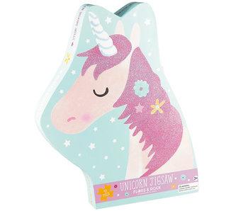 Floss & Rock Puzzel Unicorn - 40 stukjes