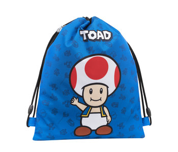 Super Mario Gymbag Toad - 42 cm