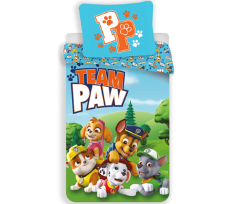 PAW Patrol Dekbedovertrek Team PAW 140 x 200