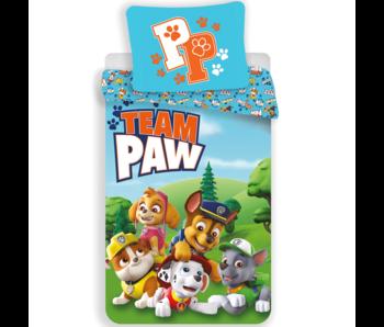 PAW Patrol Housse de couette Team PAW 140 x 200