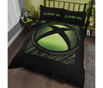Xbox Bettbezug Green Sphere 230 x 220
