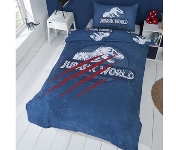 Jurassic World Bettbezug Krallen 135 x 200