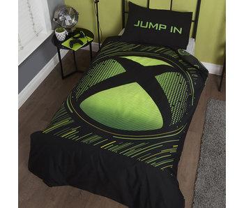 Xbox Dekbedovertrek Green Sphere 135 x 200
