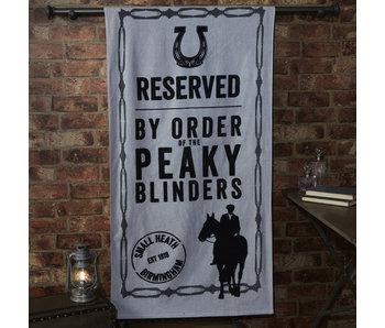 Peaky Blinders Strandlaken  Small Heath 70 x 140 cm