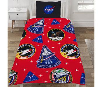 NASA Housse de couette Mission Patches 135 x 200
