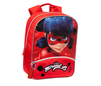 Miraculous Toddler backpack Sequins 30 cm