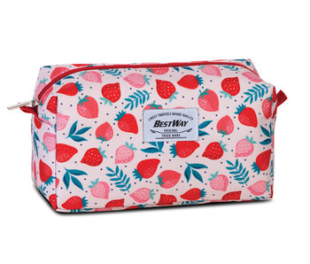 Bestway Toiletry bag Strawberry - 24 cm