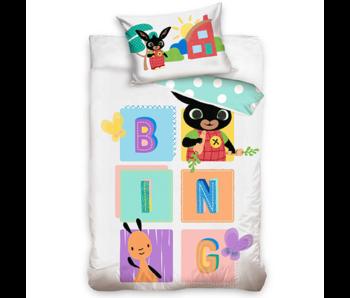Bing Bunny Housse de couette BABY BING 100 x 135 cm