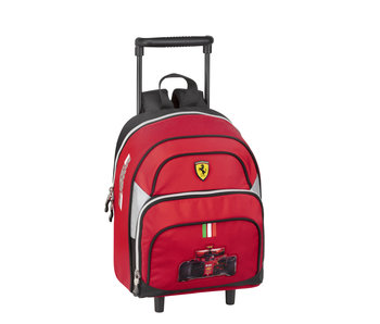 Ferrari Kids Rugzak Trolley F1 Premium - 28 cm