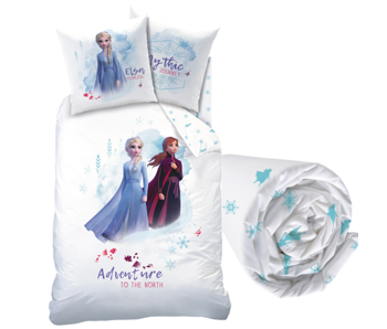 Disney Frozen Duvet Cover Set Autumnal - Single - Including fitted sheet