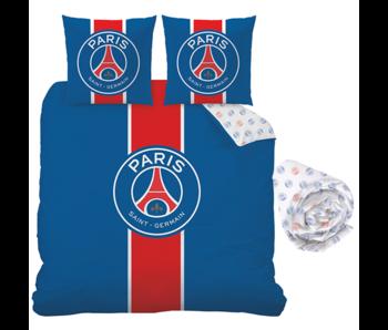 Paris Saint Germain Duvet Cover Set Classic - Double - Including fitted sheet