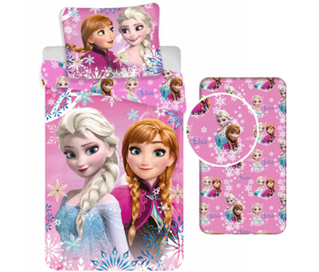 Disney Frozen Duvet Cover Set Sisters - Single - Including Fitted sheet