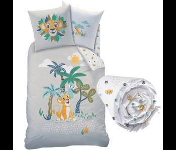 Disney The Lion King Duvet Cover Set Savana - Single - Including fitted sheet