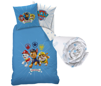 PAW Patrol Duvet Cover Set Team - Single - Including fitted sheet