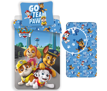 PAW Patrol Duvet Cover Set Go - Single - Including fitted sheet
