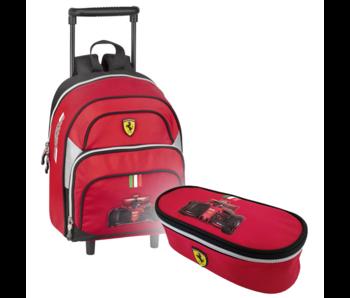 Ferrari Trolley Set F1 - Chariot et valise