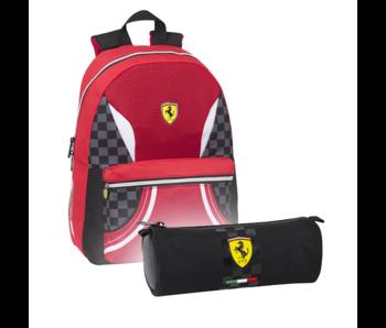 Ferrari Rugzak Set F1 - Rugzak en Etui
